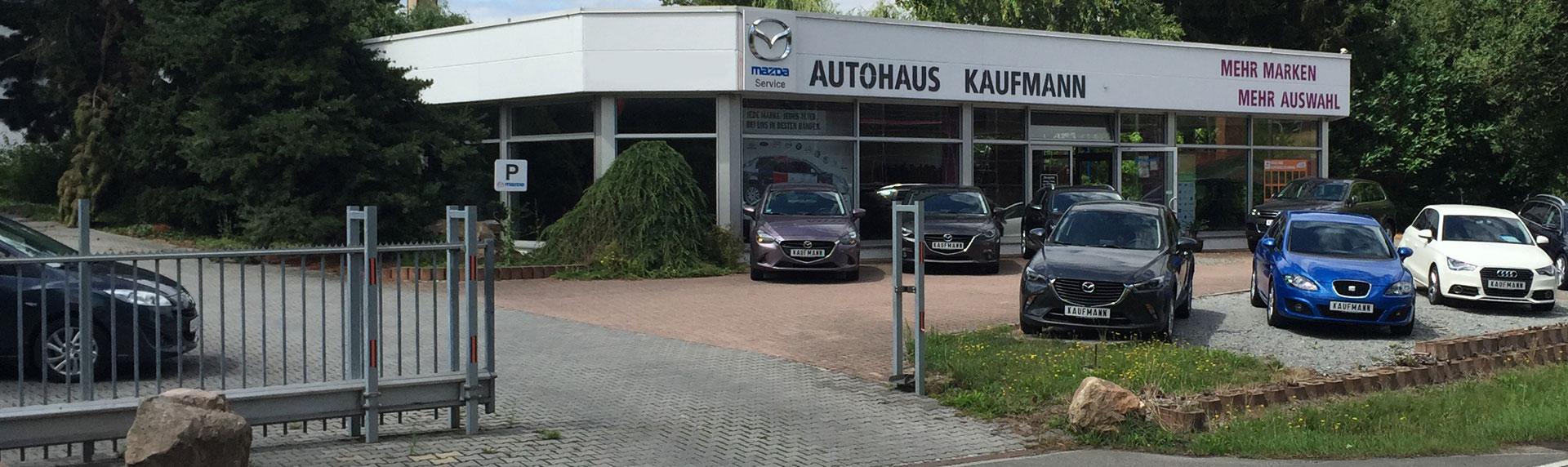 Kontakt zum Autohaus Kaufmann