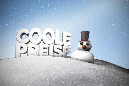 Coole Preise -Schneemann - Winter